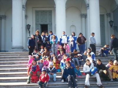 Niños en situación de Pobreza redescubren la Ciudad de Paraná.