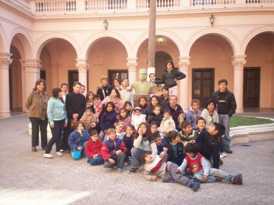 Niños del Centro Catequístico Virgen Niña del Barrio Libertad